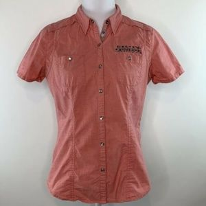 Harley Davidson Womens Casual Top Shirt Size M